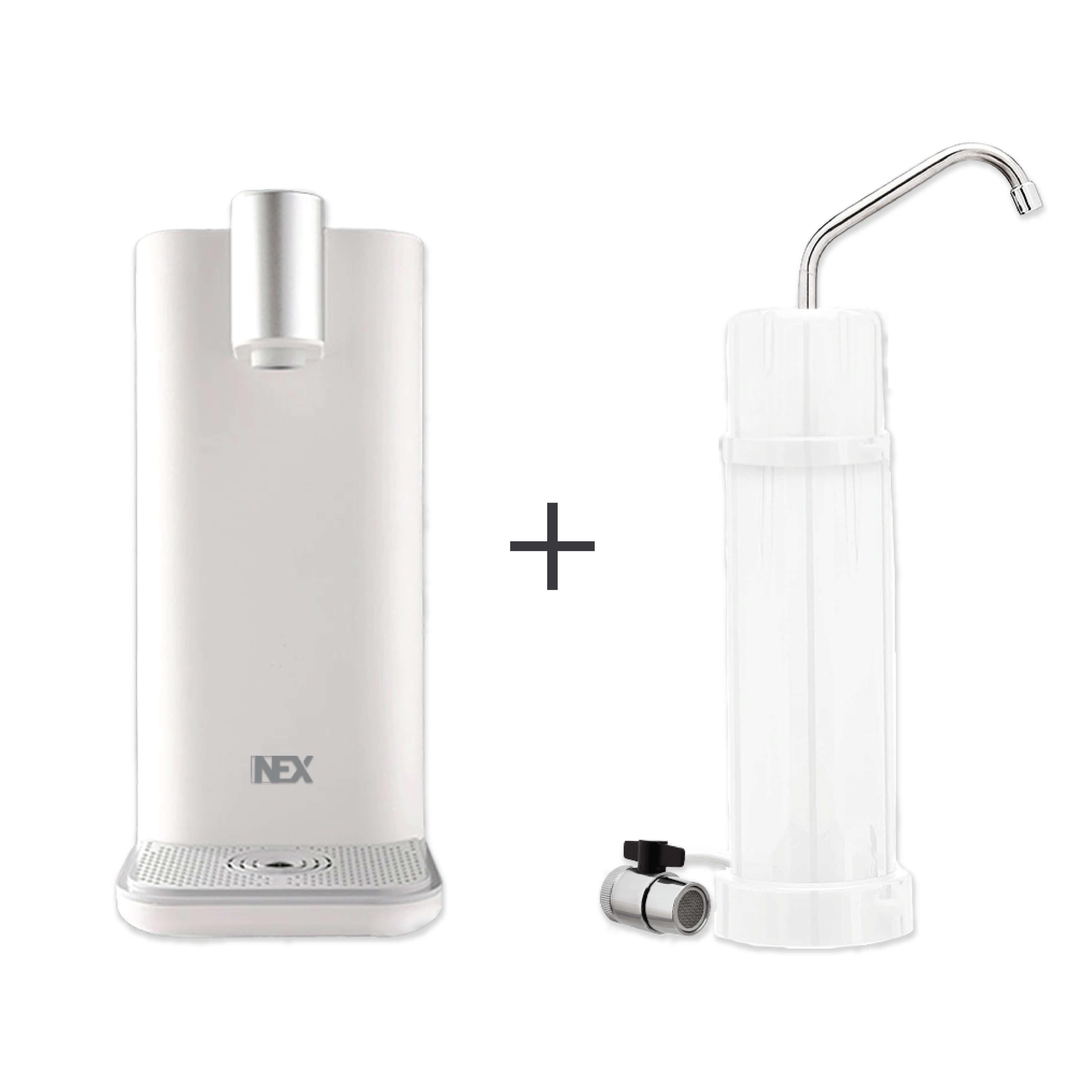 NEX i3 即熱水壷 + G30 座枱式直飲濾水器