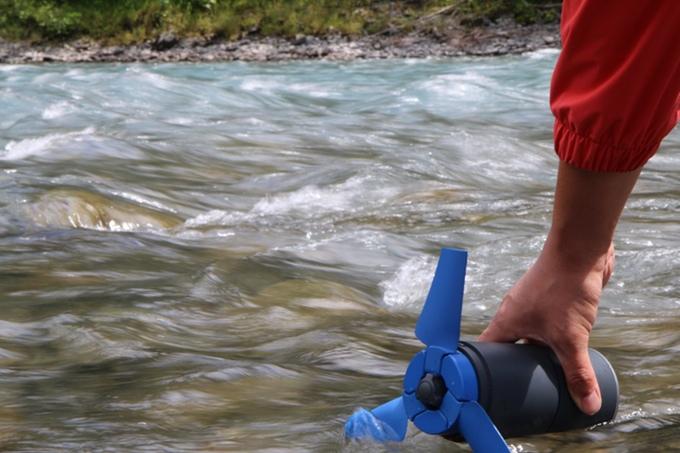 [啱哂水上活動] 自家水力發電機,環保又有型!
