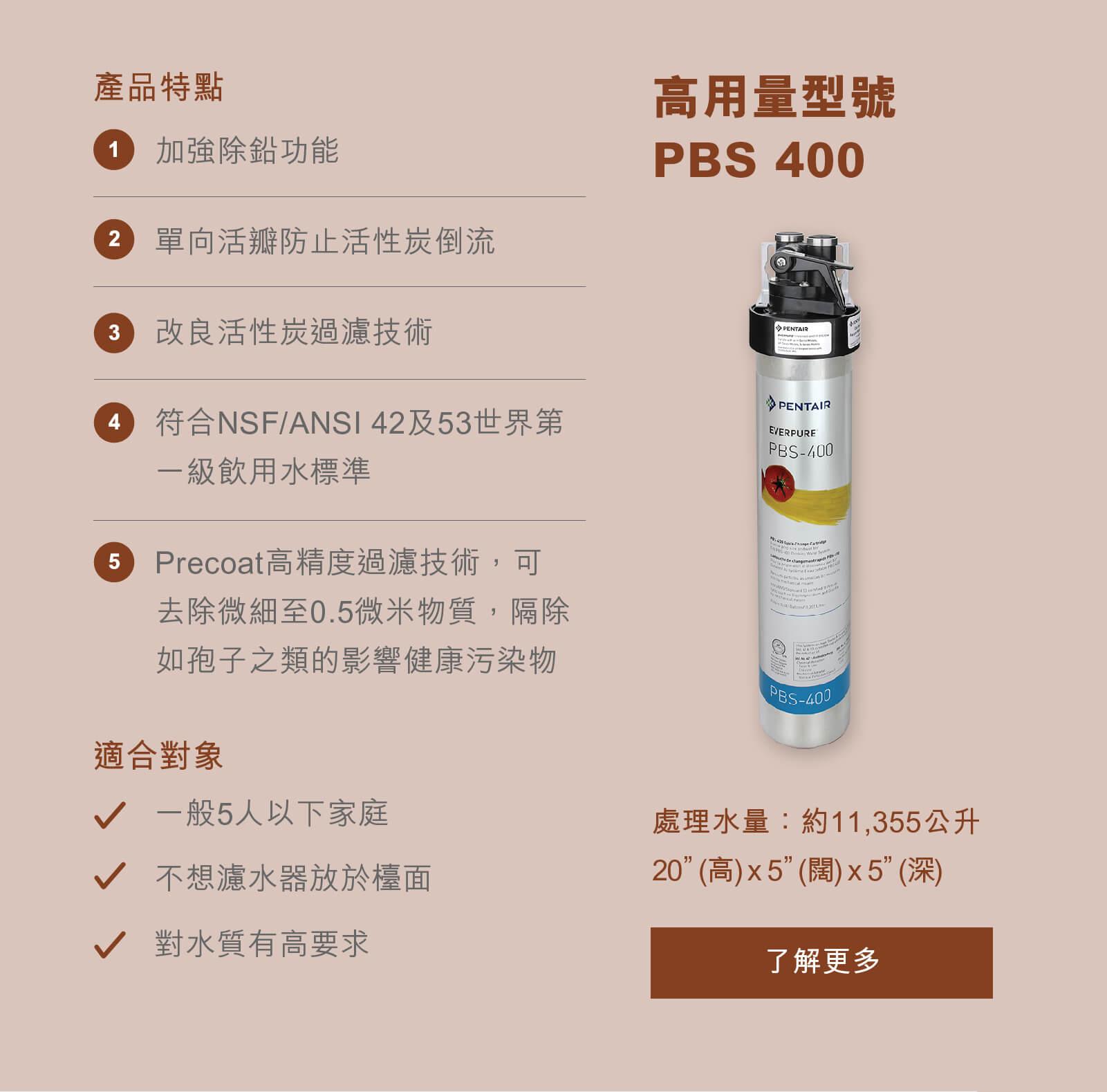 高用量型號濾水器